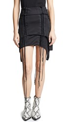 Helmut Lang Aviator Skirt Black