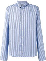 Y Project Stripe Shirt Blue