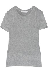 Kain Label Dayle Layered Stretch Modal Jersey T Shirt Gray