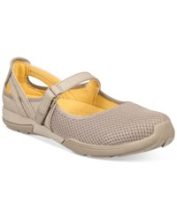Bare Traps Hasting Mary Jane Flats Women's Shoes Taupe