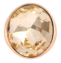Aurora 18Ct Rose Gold Plated Cocktail Ring