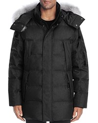 Andrew Marc New York Altitude Quilted Down Parka Black