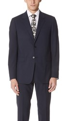 Theory Chambers Slim Fit Suit Jacket Navy