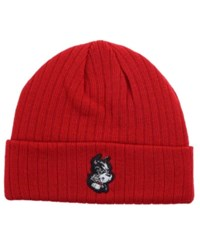 Top Of The World Boston Terriers Campus Cuff Knit Hat Red