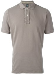Eleventy Classic Polo Shirt Nude And Neutrals
