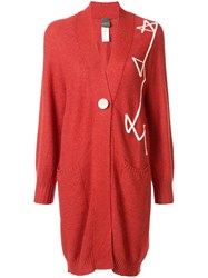 Lorena Antoniazzi Embroidered Oversized Cardigan 60