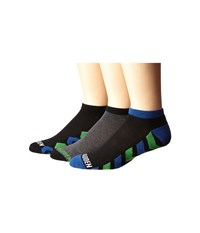Steve Madden 3 Pack Athletic Low Cut 1 2 Cushion And Arch Support Black Grey Men's Low Cut Socks Shoes