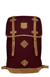 Fjall Raven Men's Fjallraven 'Rucksack No. 21' Large Backpack Purple Dark Garnet