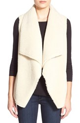 Women's Velvet By Graham And Spencer Reversible Faux Shearling Vest