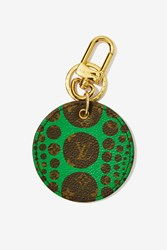 Nasty Gal Vintage Louis Vuitton X Yayoi Kusama Monogram Pumpkin Dots Leather Key Holder