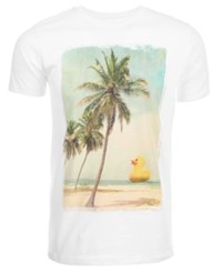 Univibe Palm Tree T Shirt By White