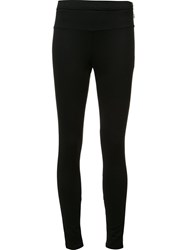 Issey Miyake 'Ponte' Zipped Ankle Trousers Black