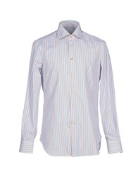 Kiton Shirts Shirts Men White