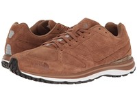 The North Face Traverse Tr Leather Bronze Brown Tnf Black Men's Shoes
