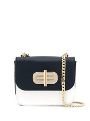 Tommy Hilfiger Oversized Lock Crossbody Bag White