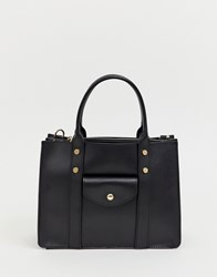 Melie Bianco Structured Tote Bag