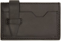 3.1 Phillip Lim Black Leather Card Holder