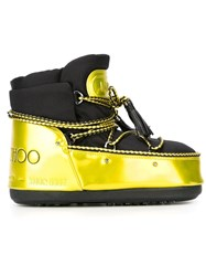 Jimmy Choo Jimmy Choo X Moon Boot 'Classic' Snow Boots Black
