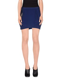 Guess Skirts Mini Skirts Women Dark Blue