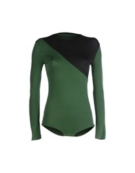 Douuod Topwear T Shirts Women Green
