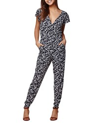 Yumi Nautical Lobster Jumpsuit Navy
