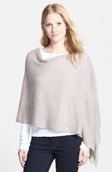 Women's In Cashmere Convertible Cashmere Poncho Brown Toast