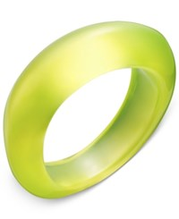 Inc International Concepts Oblong Colored Acrylic Bracelet Only At Macy's Yellow