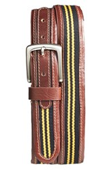 Men's Jack Mason Brand 'Tailgate Missouri Tigers' Belt