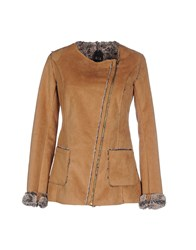 Nolita Coats And Jackets Jackets Women Camel