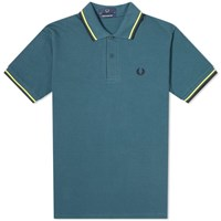 Fred Perry Original Twin Tipped Polo Blue