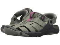 Oboz Campster Thyme Magenta Shoes Gray