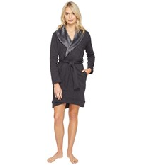 Ugg Blanche Robe Black Bear Heather Women's Robe Gray
