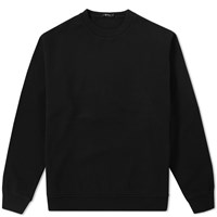 Alexander Wang T By Vintage Fleece Crew Sweat Black