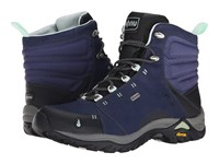 Ahnu Montara Boot Midnight Blue Women's Hiking Boots