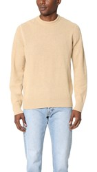 Our Legacy Base Round Neck Sweater Camel