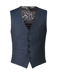 Alexandre Of England Men's Penwood Airforce Blue Tailored Waistcoat Airforce Blue