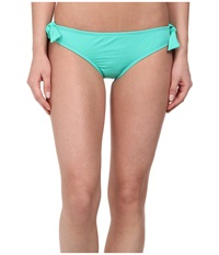 Hurley One And Only Solids Hipster Bottom Aqua Women's Swimwear Blue