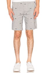 Clot Diver Shorts Gray