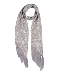 Erin Fetherston Oblong Scarves Light Grey