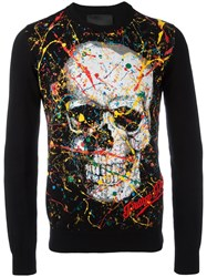 Philipp Plein Odd Jumper Black