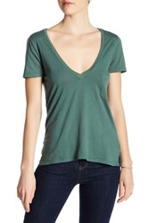 Candc California V Neck Tee Green
