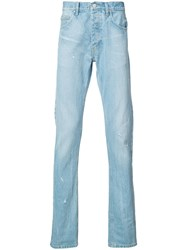 Ex Infinitas Denim Jeans Men Cotton 34 Blue