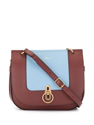 Mulberry Amberley Satchel Bag Red