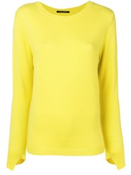 Luisa Cerano Knitted Jumper Yellow