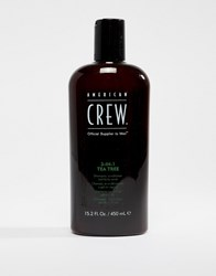 American Crew Classic 3 In 1 Tea Tree 450Ml 3 In 1 Tea Tree Clear