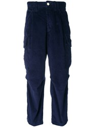 Lc23 Corduroy Trousers Blue