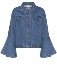 Edit Denim Jacket Blue