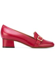L'autre Chose Mid Heel Pumps Women Calf Leather Leather 39 Red