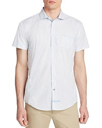 English Laundry Short Sleeve Slim Fit Shirt Compare At 79 Blue