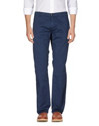 Richard James Brown Casual Pants Dark Blue